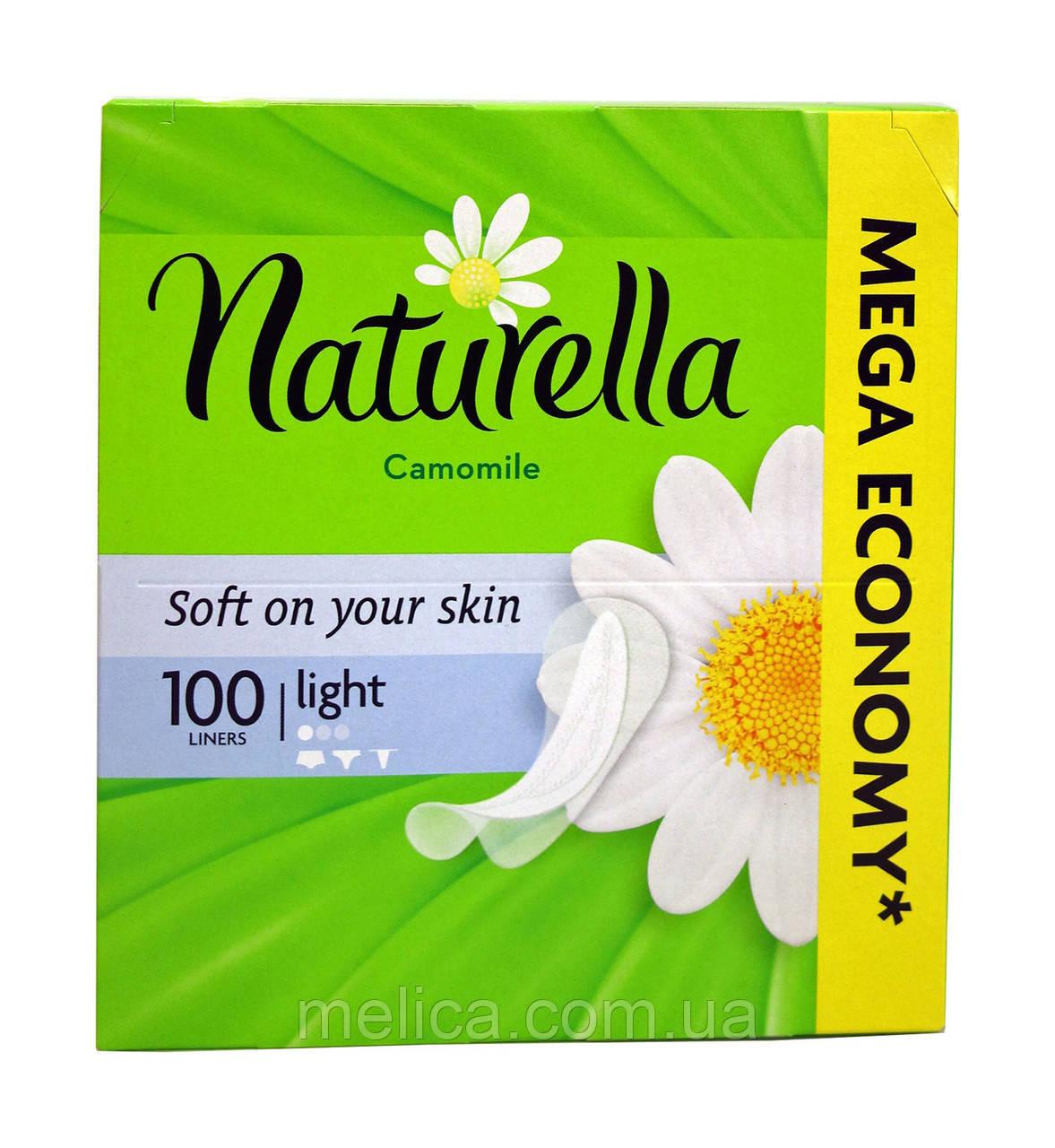 Ежедневные прокладки Naturella Camomile Light - 100 шт.