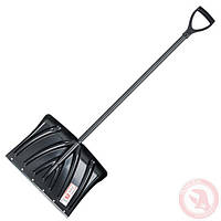 Лопата для уборки снега 505*340мм с ручкой 1300 мм, фото 1