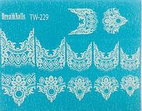 Слайдер дизайн для ногтей TW-229