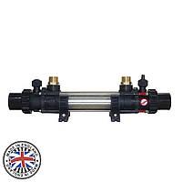 Теплообменник Elecro G2I 30 kw HE 30 Incoloy+316L (трубчатый, 4 bar), фото 1
