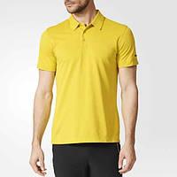 Футболка поло спортивная, мужская Adidas Porsche Design Super Yellow | AI1587 адидас, фото 1