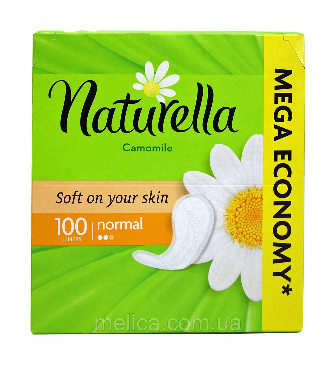 Ежедневные прокладки Naturella Camomile Normal - 100 шт.