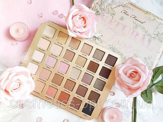 Тени Too Faced Natural Love Ultimate Eyeshadow Palette (реплика)