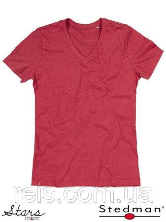 Мужская футболка с V-образным воротом SST9810 CEH