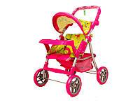 Игрушечная коляска для куклы melogo 9337e-t