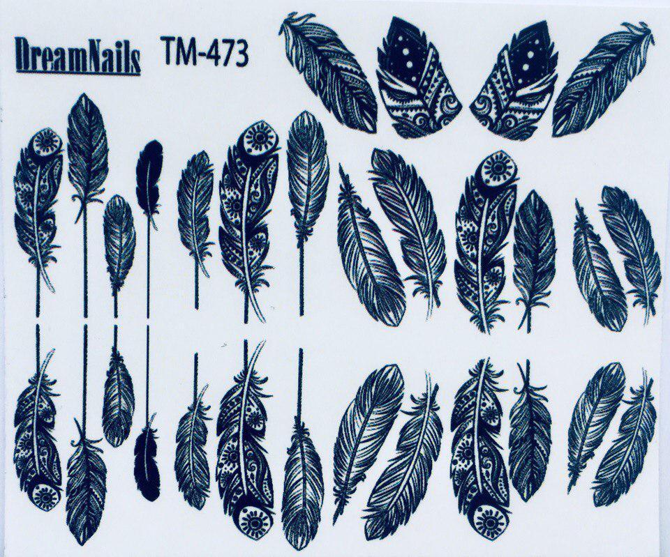 Слайдер дизайн для ногтей ТМ-473