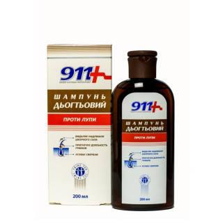 911 Дегтярный шампунь проти лупи 200 мл