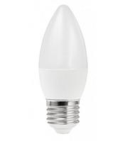 Лампа LED Свеча 7W 220V 3000K E27 матовая