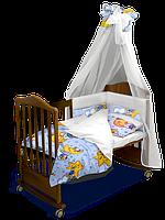 Комплект постельного белья «Сонный Мишка» Classic с балдахином