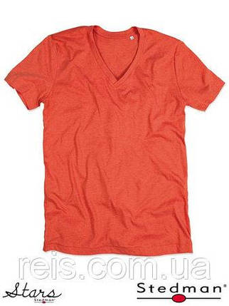 Мужская футболка с V-образным воротом SST9810 PUH, фото 2