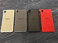 Чехол Logo для Sony Xperia X F5122 (4 цвета)