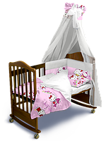 Комплект постельного белья «Hello Kitty» Classic с балдахином