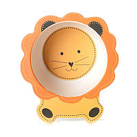 Тарелка из бамбукового волокна Lion