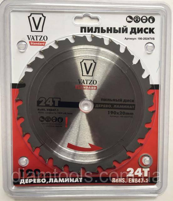 Пильный диск по ламинату VATZO