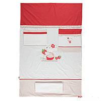 Детская постель Bebetto Cilek 4 предмета white/red