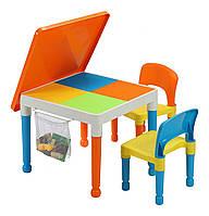 Игровой стол для LEGO 2 в 1 квадратный - 2