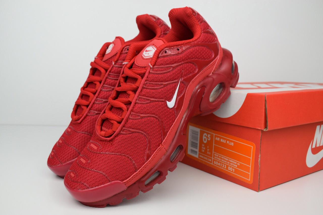 e012de4fd027e0 Женские кроссовки Nike TN Plus, красные, цена 1 299 грн., купить в ...