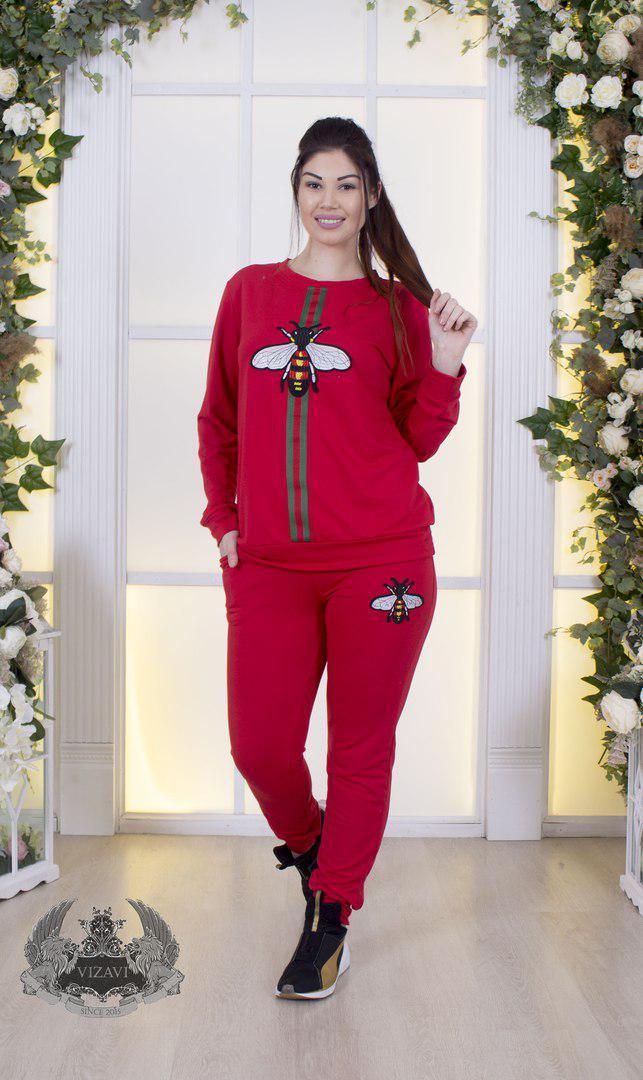 685593a2f387 Женский спортивный костюм турецкая двух нитка высокого качества Размер :42-44  44-46