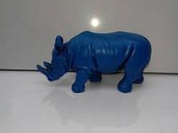 "Статуэтка ""Синий (голубой) носорог"""