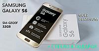 Смартфон Samsung Galaxy S6 Gold