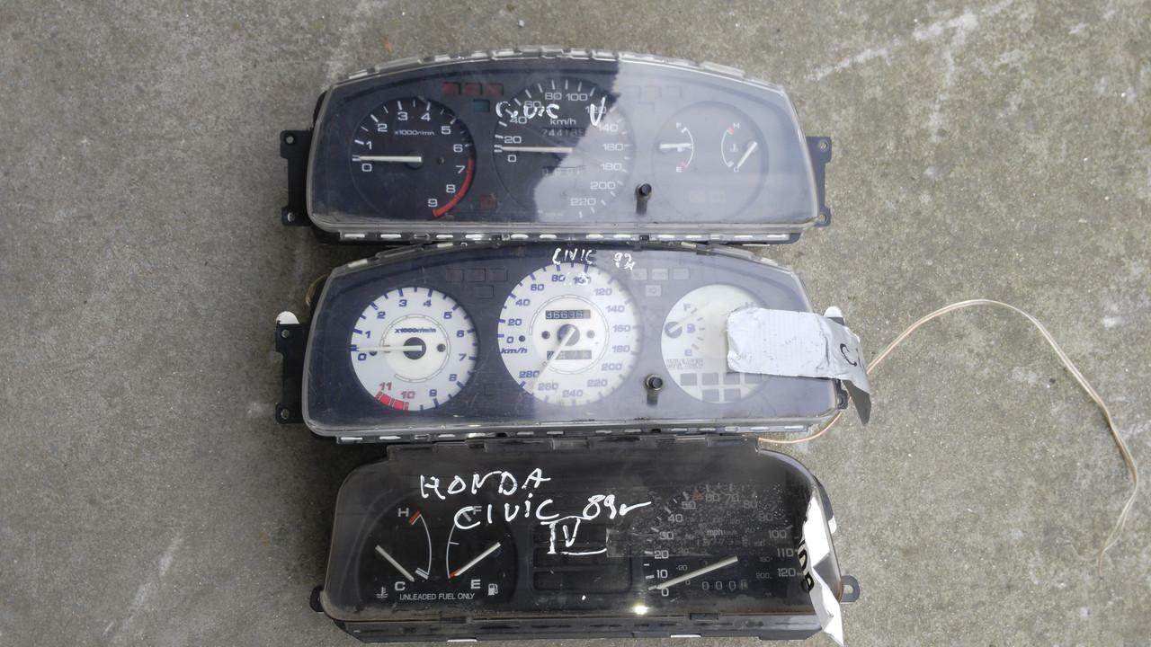 Панель приборов/спидометр Honda Civic IV,V