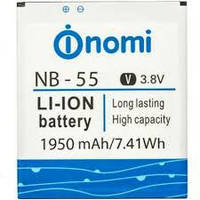 Аккумулятор Nomi i500 i502 i504 i505 i550 i503 NB54
