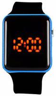 Наручные часы LED Синие