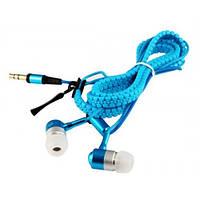 Наушники вакуумные проводные Змейка + Microphone (цвета в ассортименте)