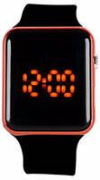 Наручные часы LED Красные