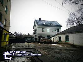 Сонячна електростанція 10 кВт м. Коростишів 1