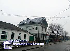 Сонячна електростанція 10 кВт м. Коростишів