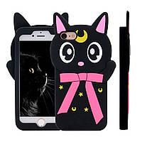 TPU чехол Crystal Cat для Iphone 7/8