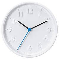 """ИКЕА """"СТОММА"""" Часы настенные, белые, 20 см., фото 1"""