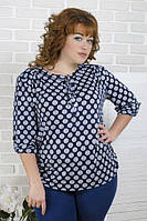 """Женская блуза большого размера  """"Кала""""  48-58р., фото 1"""