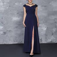 Платье Verezhik House 40 Синее (1099S40)