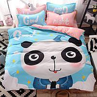 Уценка (дефекты)! Комплект постельного белья Panda (полуторный) Berni