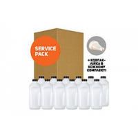Тонер TTI   HP LJ P1005 SERVICE PACK В ФЛАКОНАХ (T125-S), ПАКЕТ 10 кг (12x833 г)