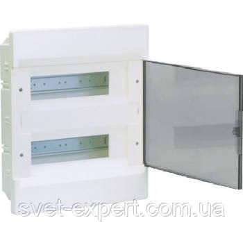 Щит в/у з прозорими дверцятами 24 мод.(2х12) COSMOS, фото 2
