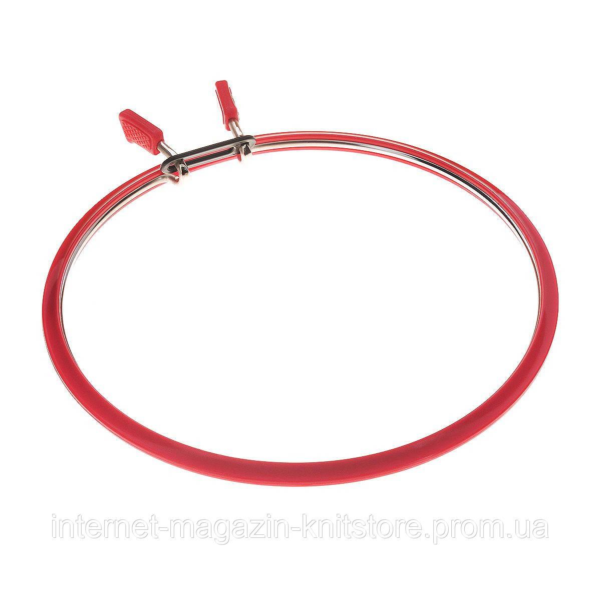 П'яльця металеві Nurge Ø 126 мм червоний