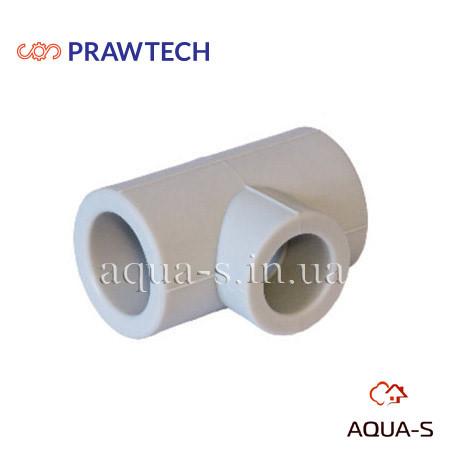 Тройник переходной Prawtech PPR Dn 110x90x110 для полипропиленовой трубы (Польша)