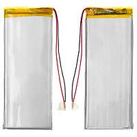 Батарея (АКБ, аккумулятор) для китайских планшетов/телефонов, универсальный, 1800 mAh, 113х45х2,8 мм