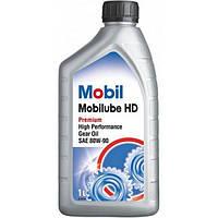 Трансмиссионное масло Mobil Mobilube HD 80w90 1л. GL-5