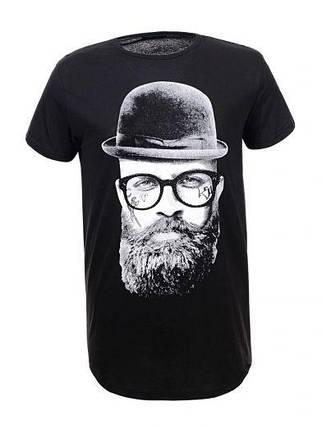 Мужская футболка  GLO-STORY AS18 MPO-5398 черная , фото 2