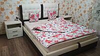 Одеяло натуральная шерсть 200x220 двуспальное евроразмер
