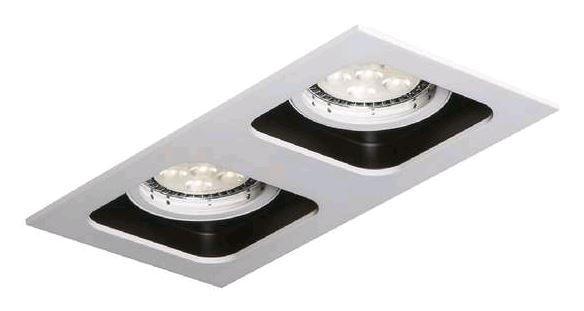 Встраиваемые светильники со сменными источниками света