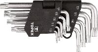 Ключи шестигранные Torx T10-T50, 9шт TOPEX (35D960), фото 1