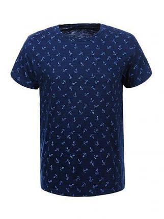 Мужская футболка  GLO-STORY AS18 MPO-5333 Синяя, фото 2