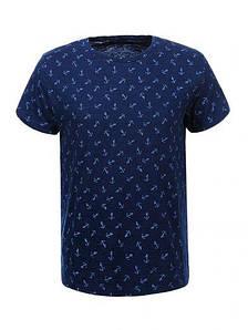 Мужская футболка  GLO-STORY AS18 MPO-5333 Синяя