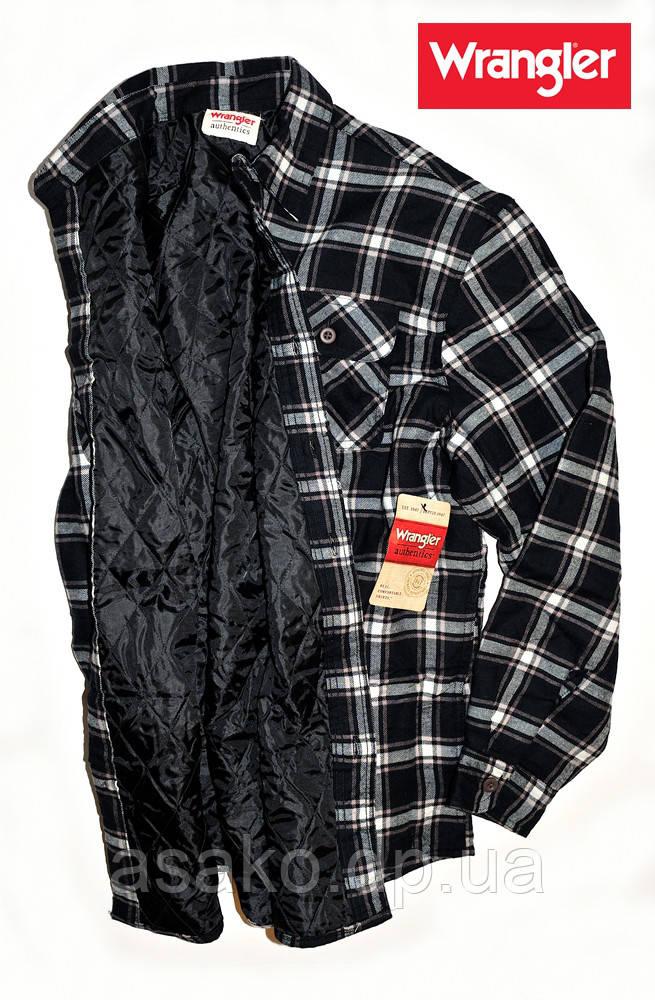 147cb854218ab71 Рубашка-куртка Wrangler®(США)(M)/фланелевая на Подкладке/Оригинал Из ...