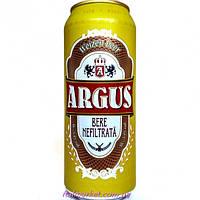 Пиво Argus Аргус нефильтрованное 0,5 л